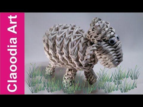 Baranek, owieczka z papierowej wikliny (lamb, sheep, wicker paper) - YouTube