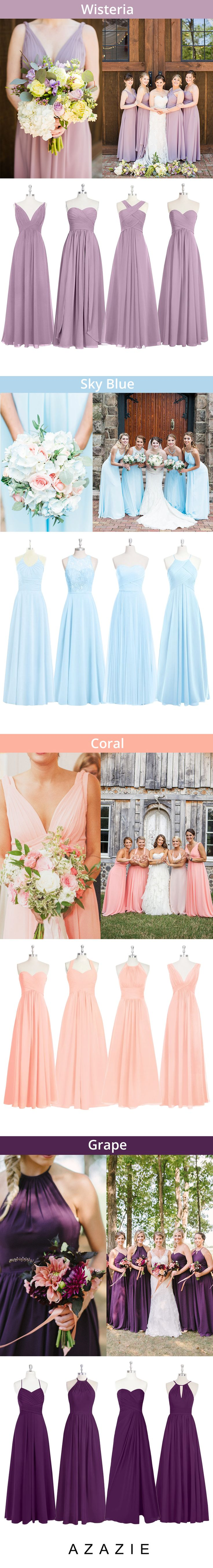 Best 25+ Coral colored bridesmaid dresses ideas on Pinterest | On trend  dresses, Coral dress for wedding and Wedding occasion dresses