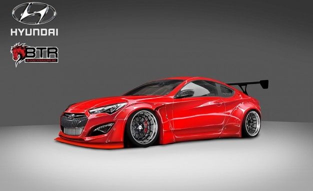 Hyundai infused itssecond-generation Genesis sedanwith sophistication, but the originalGenesis coupe, which remains in production, is as rambunctious as ever (for good and bad). And that trait has been underscored in bold by this SEMA show car created by Illinois-based tuner Blood Type Racing. BTR's car is coated in custom Candy Red paint, and it packs […]