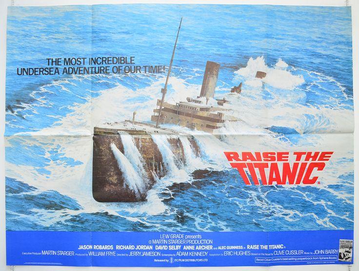 raise the titanic movie posters | Raise The Titanic - Original Cinema Movie Poster From pastposters.com ...