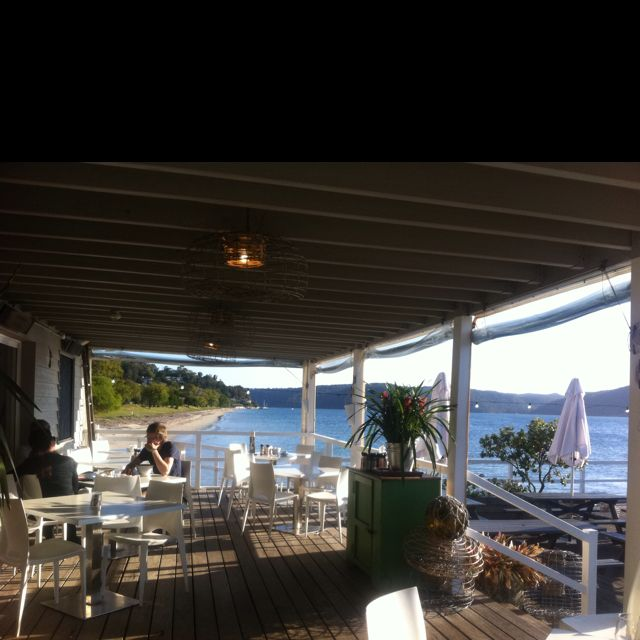 The Boathouse - Palm Beach near Sydney, Australia. My favourite cafe in the world. Incredible food & view & lovely staff.
