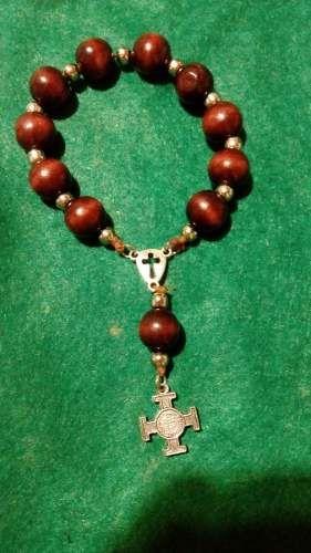 san benito denarios rosarios pulseras medallas #bijouterie