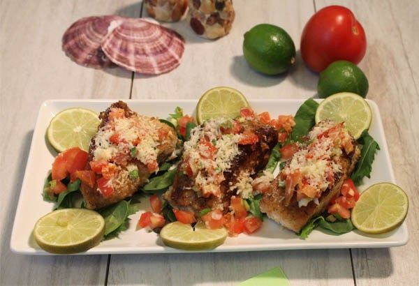 Key West Style Striped Bass 1 | 2CookinMamas