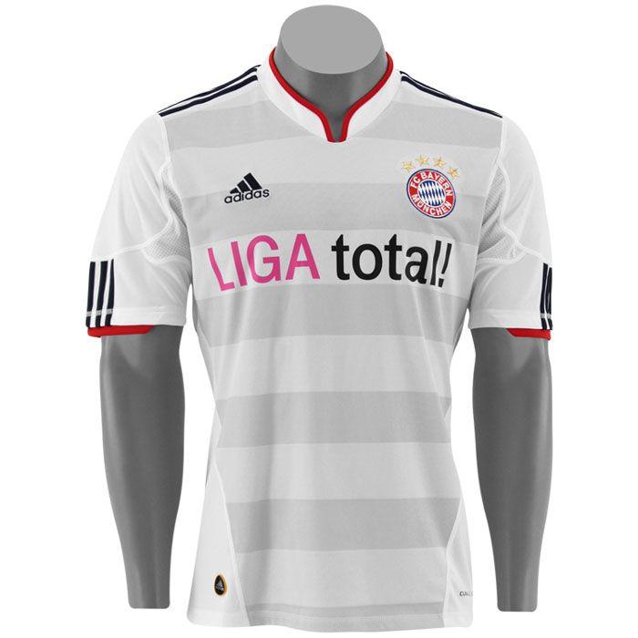 adidas 2010 2011 bayern munchen away soccer shirts. Black Bedroom Furniture Sets. Home Design Ideas