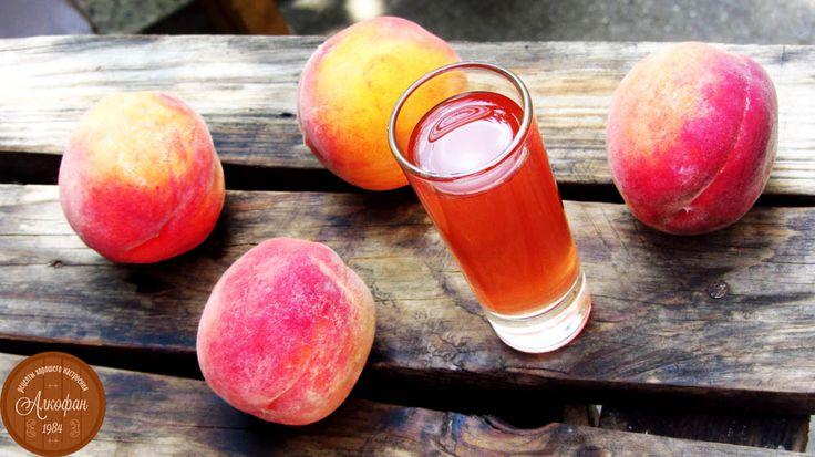 рецепт персиковой наливки