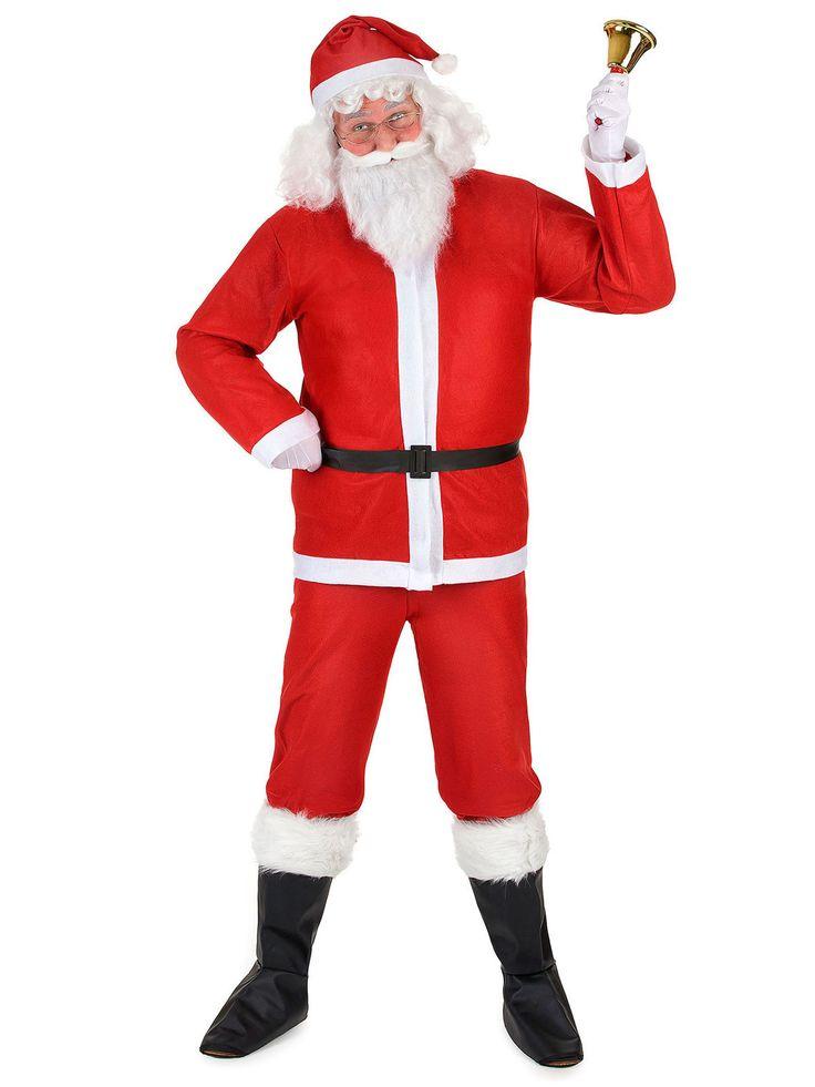 Weihnachtsmann Komplett-Kostüm Weihnachten rot-weiss aus der Kategorie Karnevalskostüme / Weihnachtskostüme. Ho! Ho! Ho! Auch wenn dieser schlanke Weihnachtsmann recht gut durch den Kamin passen sollte, dürften sich auch die Türen für ihn öffnen wie von Zauberhand!