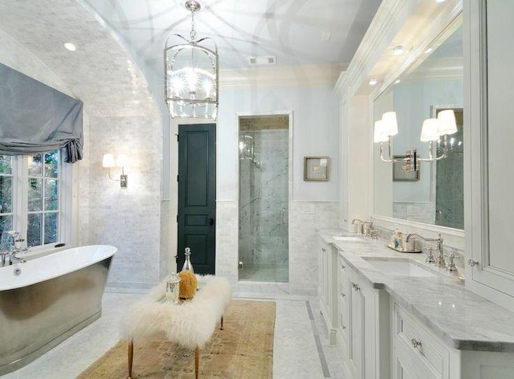 White Master Bathrooms 104 best bath images on pinterest | bathroom ideas, dream