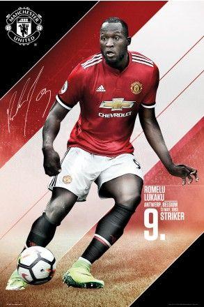 Manchester United Lukaku 17/18 Maxi Poster