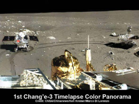 OVNI Hoje! » 'Coelho de Jade' quebrou na Lua, mas antes enviou primeira foto panorâmica de alta resolução
