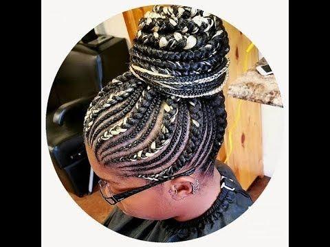 Natural Hair Weaving Hairstyles : Beautiful Braid Styles for Ladies