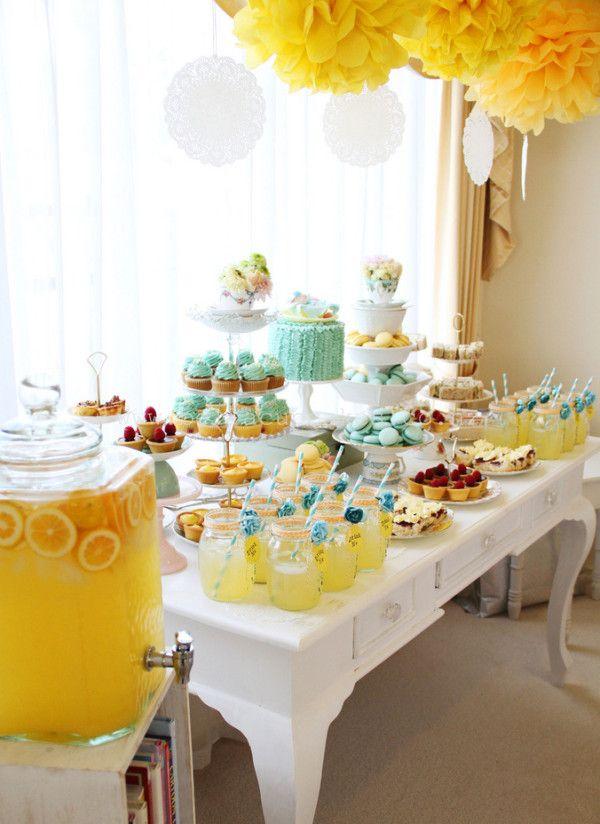49 best images about baby shower tea party on pinterest - Ideas decoracion navidad ...