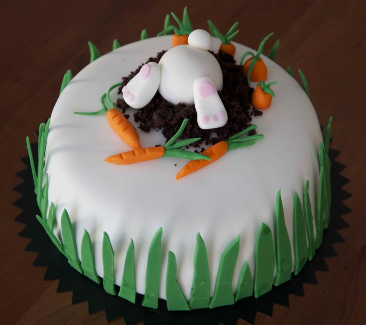 bunnies pictures | Food Obsessions… » bunny cake. fondant rabbit - What's for dinner ...