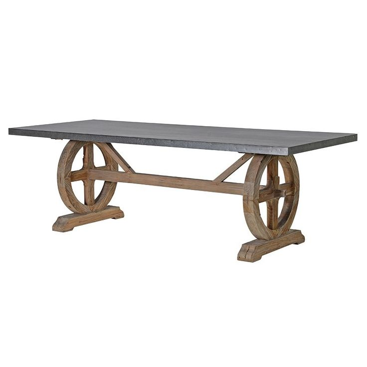 Large Farmhouse Dining Table Made From Old Pine And Metal Beautifully Designed. Our Furniture & Accessories are all made to a high standard with covered warranty for peace of mind. Make your Home Inspirational. La Maison Chic Luxury Furniture Free UK* Delivery Call 0800 1337828 to speak to our sales team.