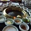 Genwa Korean BBQ. Banchan circle of life.