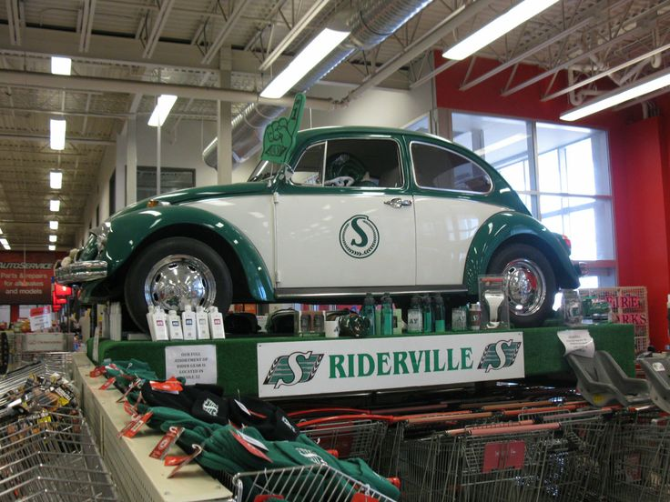 1960's Roughriders Bug - 2012 Canadian Tire, Prince Albert Sask . Gallery: http://www.specialcarstore.com/events/klassickruizers.html