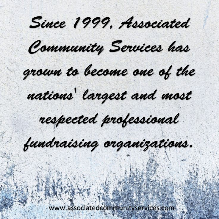 Associated Community Services (acsfundraising) Twitter