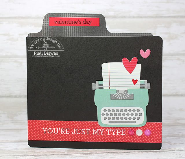 Doodlebug Design Inc Blog: Sweet Things Collection: Mini Album + Cards by Piali