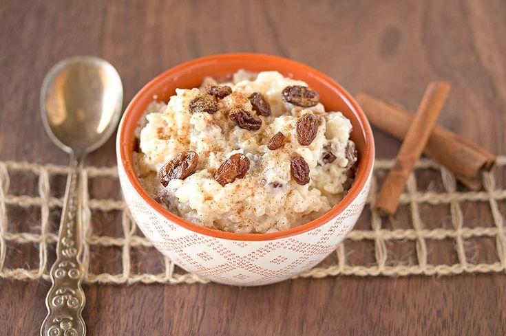 Cinnamon-Raisin Coconut Rice Pudding
