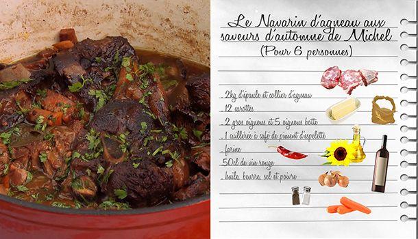 Les Carnets de Julie - La cuisine épicée - Navarin d'agneau de Michel