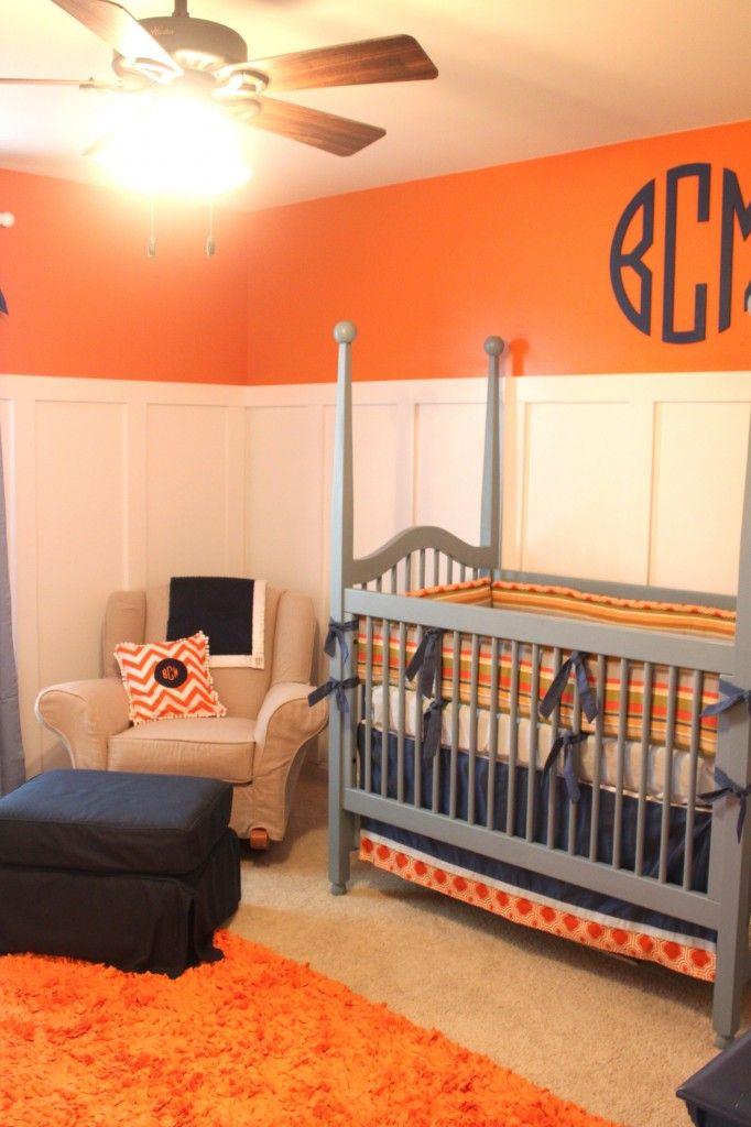 Orange, Grey, Blue.  I also like the added panelling