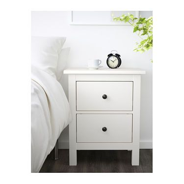IKEA HEMNES chest of 2 drawers The drawer insert is perfect for small things.