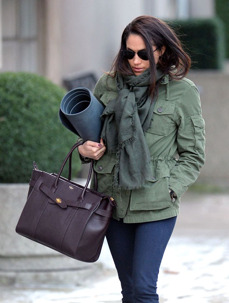 Meghan Markle Mulberry Zipped Bayswater Tote Bags