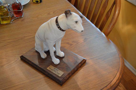 NIPPER RCA DOG  Anthony Visco 1986 by KNIGHTLYTREASURES on Etsy