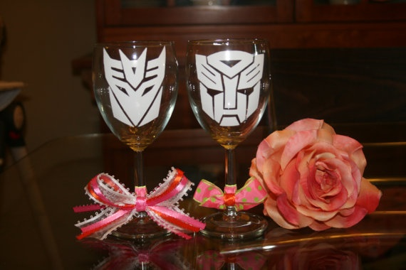 betsey!!!!: Ideas, Wine Glasses, Wedding Som, Wedding Glasses, Custom Wine