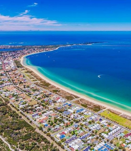 Rockingham, Western Australia. Have good friends living here, been a couple of times. Just a stones throw from the sea and beachfront.