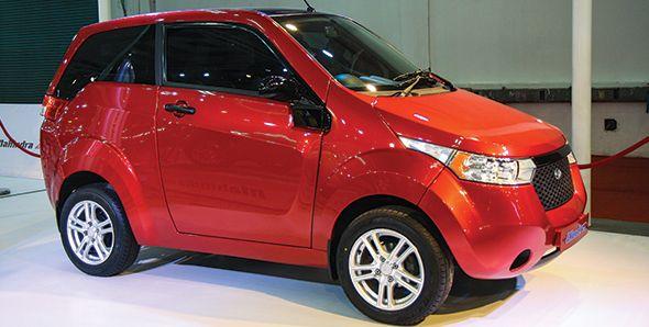 Mahindra e2o latest electric car technology