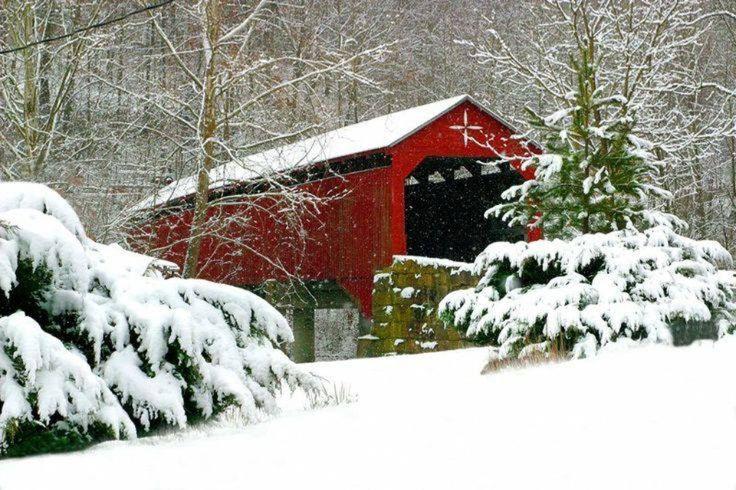 Carrollton Covered Bridge West Virginia