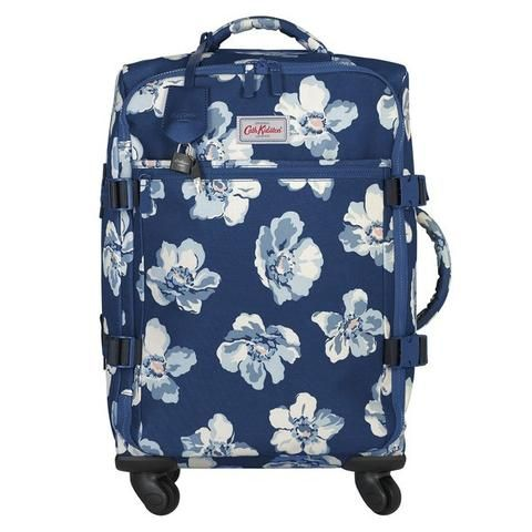 Cath Kidston Scattered Anemones four wheel cabin bag