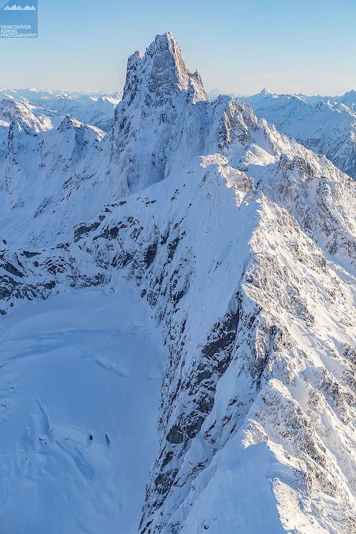 Fraser Valley Aerial Photography of Cheam and Skagit Mountains Range Mount Slesse, Howling wolf,