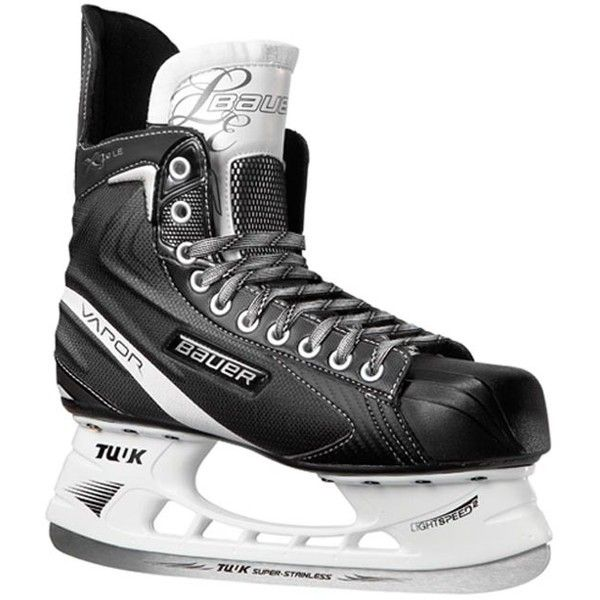Bauer Vapor X3.0 LE Jr. Ice Hockey Skates ❤ liked on Polyvore featuring sport and hockey