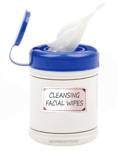 DIY Coconut Oil Face Cleaning Wipes - ♥ IndianBeautySpot.Com ♥