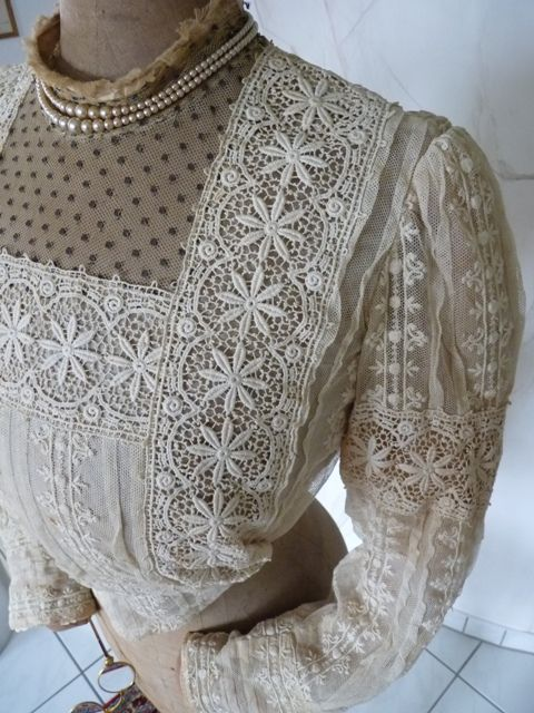 Edwardian Blouse, ca. 1908