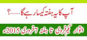 Horoscope in Urdu