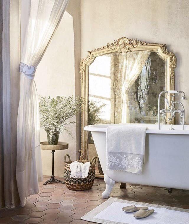 40 Franzosisch Land Bad Designs Design Landliche Badezimmer Franzosische Land Schlafzimmer Romantisches Bad