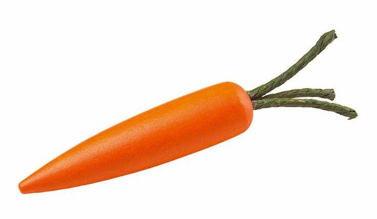 Cute eco stocking filler: Erzi Play Food- Wooden Carrot