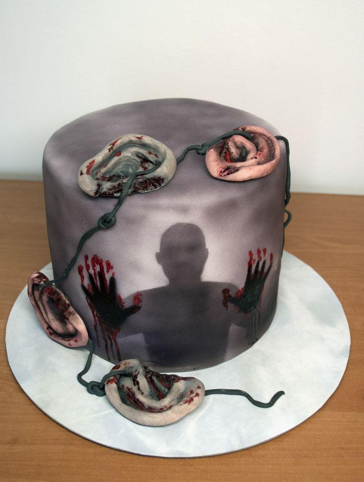 Dort - seriál Živí mrtví. The Walking Dead Cake.