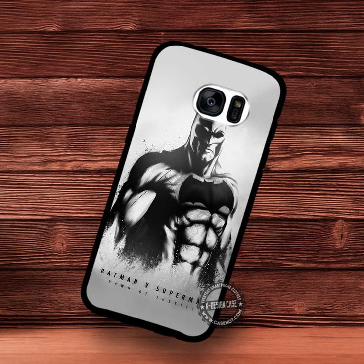 Batman logo in Superheroes Movie - Samsung Galaxy S7 S6 S5 Note 7 Cases & Covers