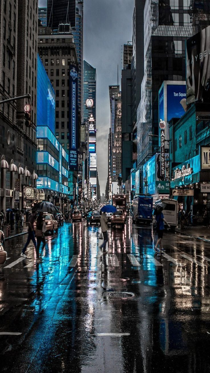 Street City Travel Wallpapers Iphone Android City Wallpaper New York Wallpaper City Aesthetic