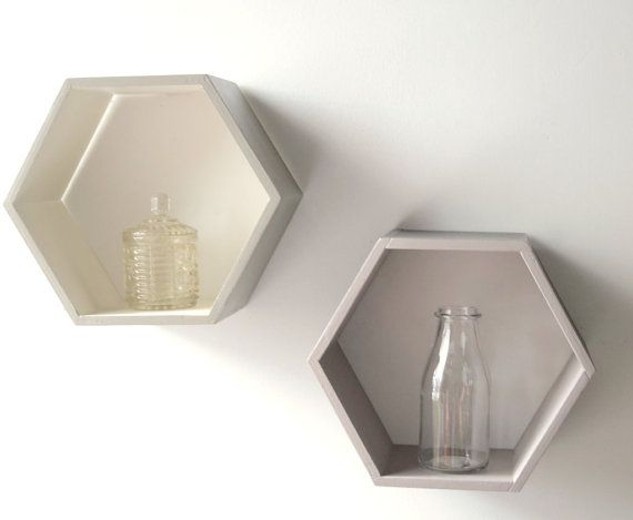95 best images about que hacer con los frascos on for Decoration murale hexagonale
