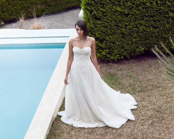 straplez, askısız gelinlik modelleri 2016-a kesim askısız-straplez gelinlikler-nova bella nişantaşı