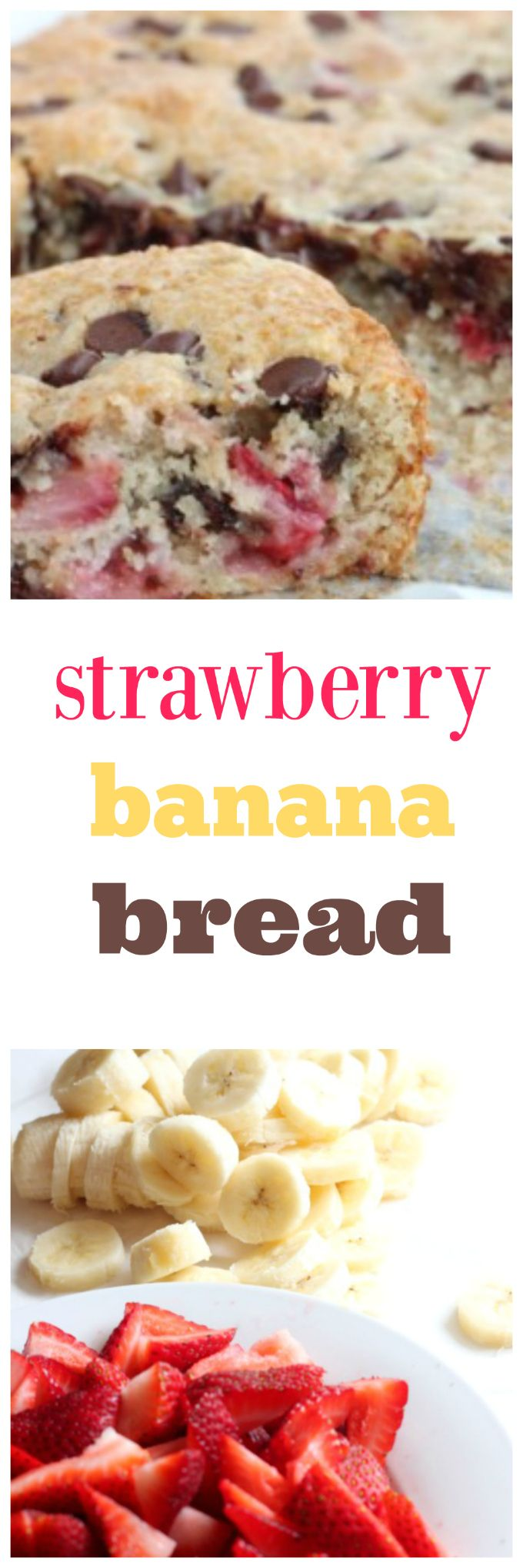 strawberry banana bread @createdbydiane
