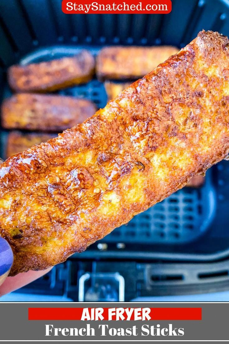 Easy Air Fryer French Toast Sticks in 2020 Air fryer