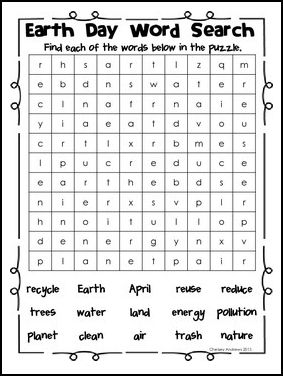 Earth third grade language arts activities earth day activities for