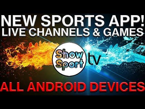 BRAND NEW SPORTS STREAMING APP FOR ALL ANDROID DEVICES - LIVE GAMES & CHANNELS - SHOWSPORT TV (===================) My Affiliate Link (===================) amazon http://amzn.to/2n6MagF (===================) bookdepository http://ift.tt/2ox2ryU (===================) cdkeys http://ift.tt/2oUpFex (===================) private internet access http://ift.tt/PIwHyx (===================) Here is a brand new application for all android devices that allows you to watch live sports games and channels…