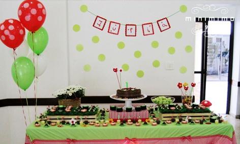 Minimimo - festas - joaninha: Gift, Parties Ideas