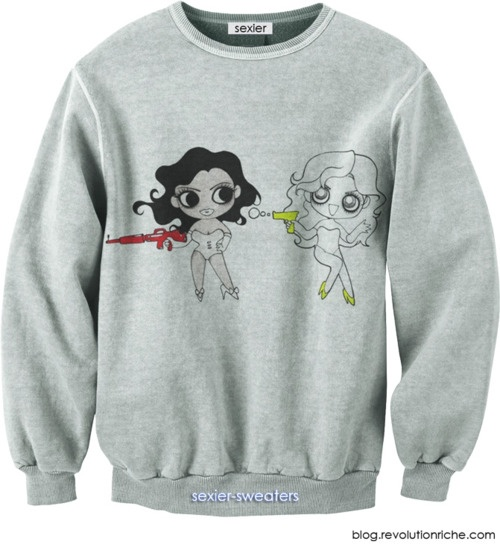 Video Phone / Beyonce / Lady Gaga - Sexier Sweater